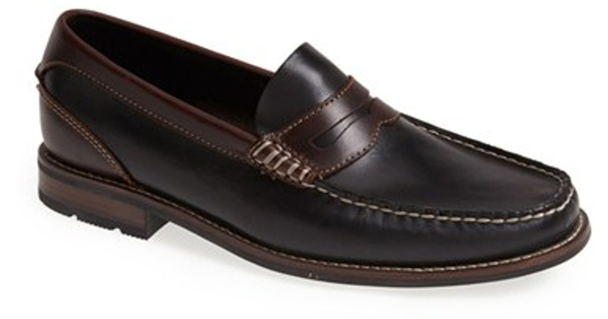 aee8407964d Sperry Top-Sider  essex  Penny Loafer in Black for Men - Lyst