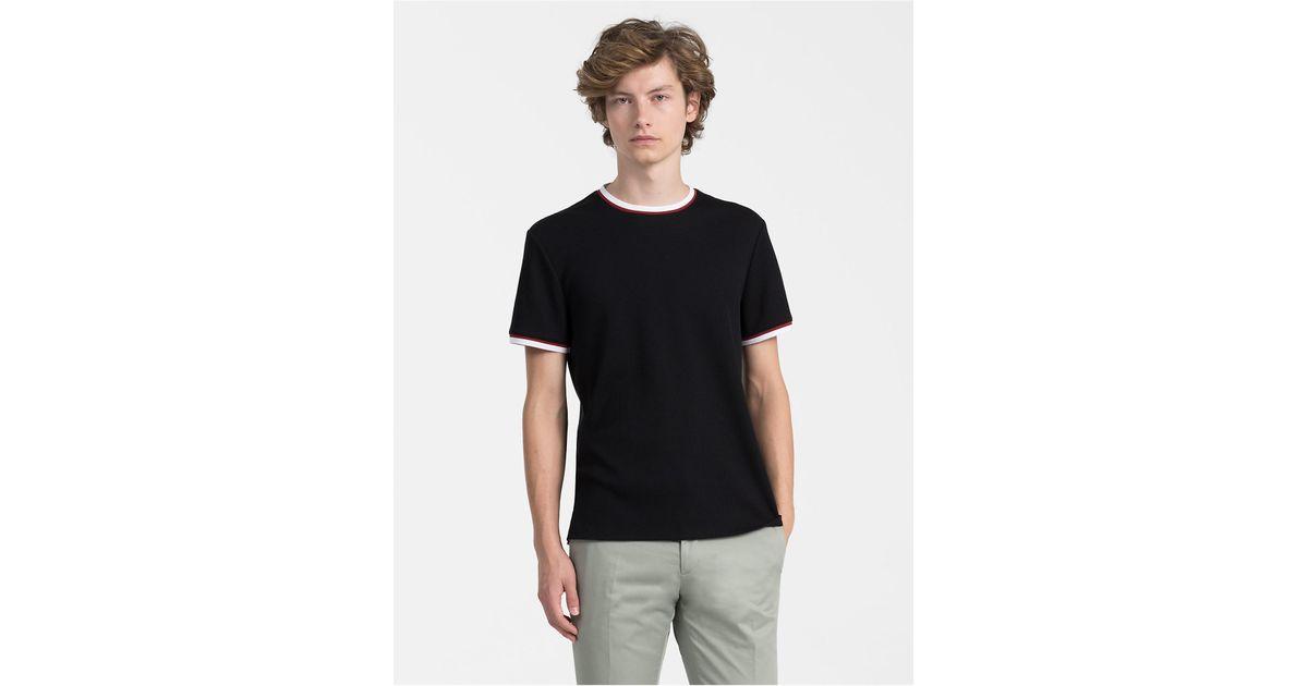 c63bb0a0800b03 calvin-klein-205w39nyc-PERFECT-BLACK-Slim-Fit-Waffle-Cotton-T-shirt.jpeg
