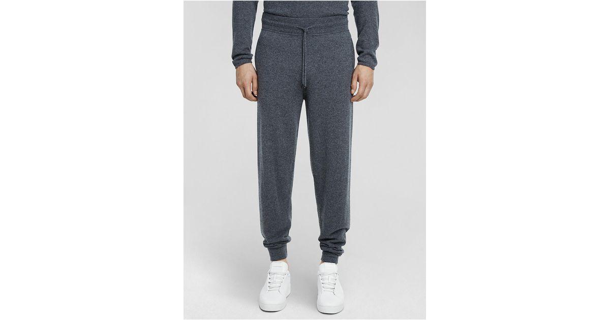 1a8cc0b6f98d3e Lyst - Calvin Klein Collection Cashmere Jogger for Men
