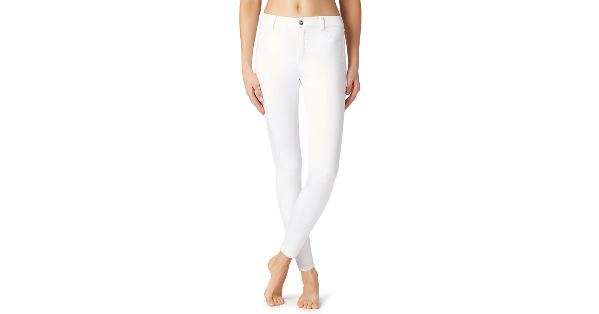 2b64f1ab6 Calzedonia Sexy-slim-fit Lightweight Jeans in White - Lyst