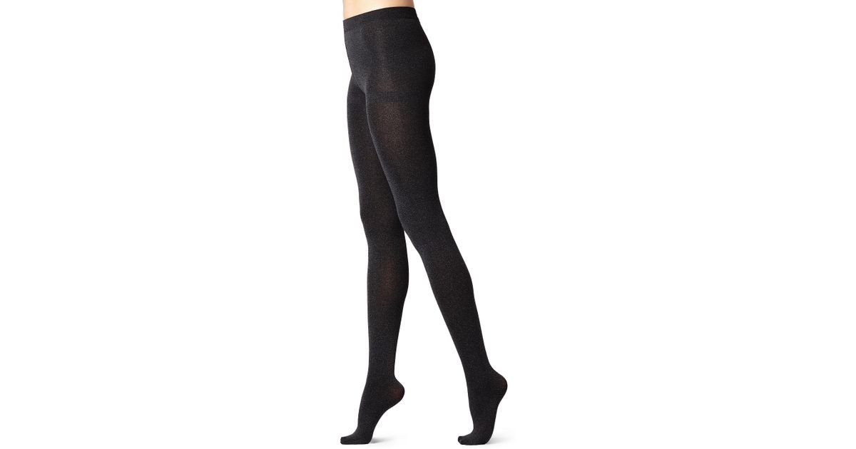 493135c17 Lyst - Calzedonia Thermal Super Opaque Tights in Black
