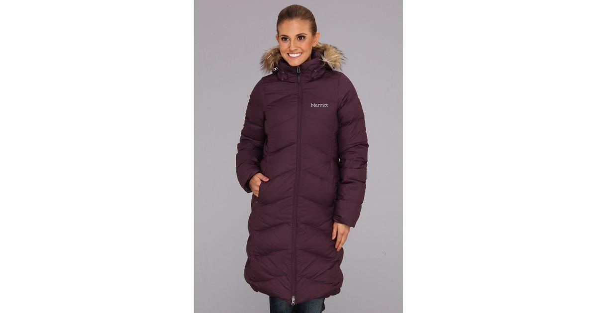 Lyst - Marmot Montreaux Coat in Purple 9643b1d55425