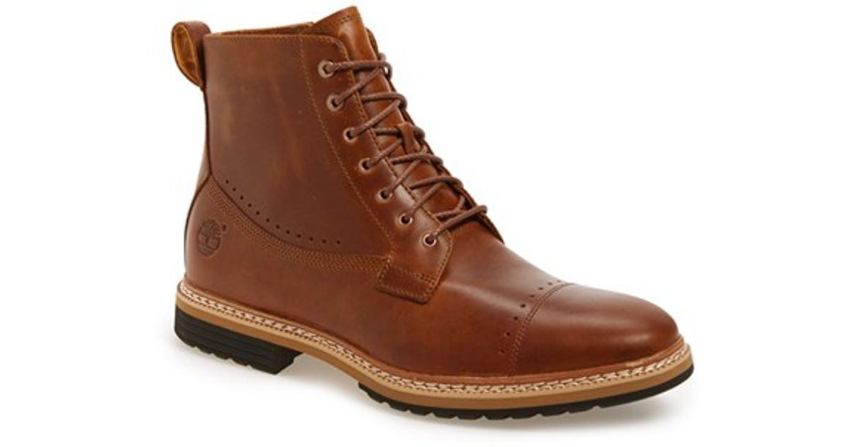 Lyst Timberland Westhaven 6 Side Zip Boot In Brown For