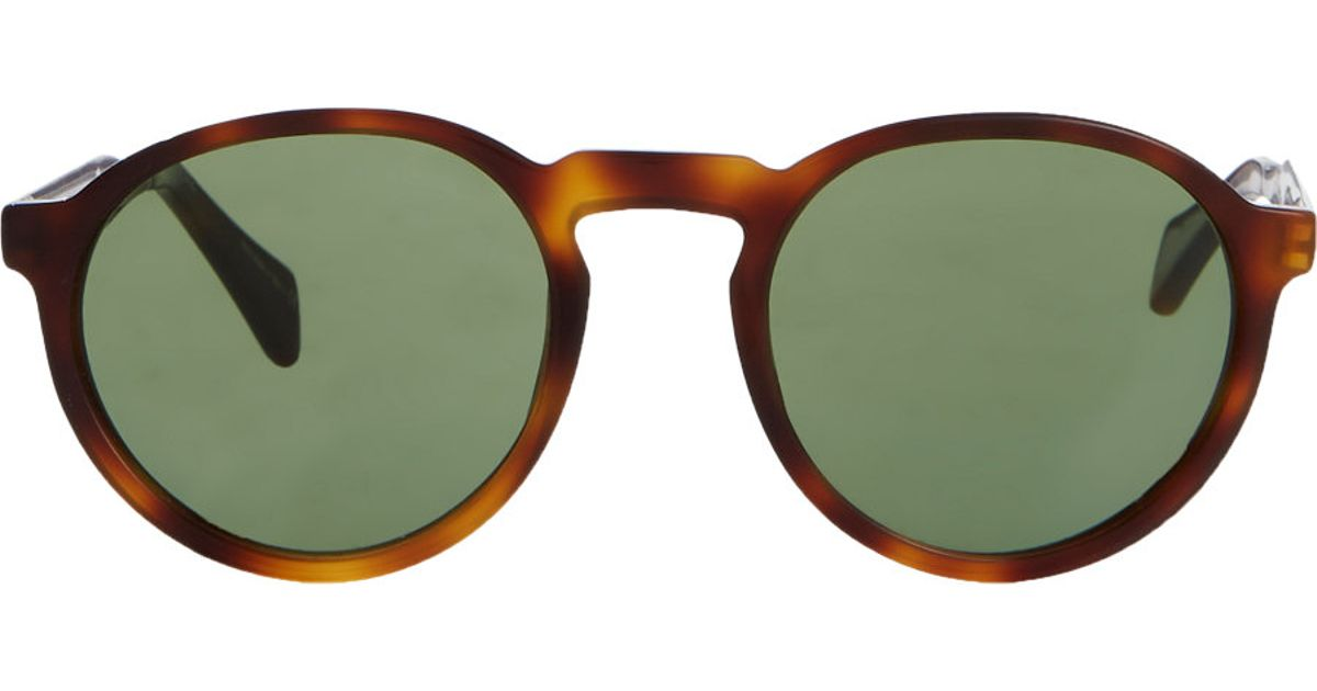 691b0161b00cf Paul Smith Elson Sunglasses in Brown for Men - Lyst