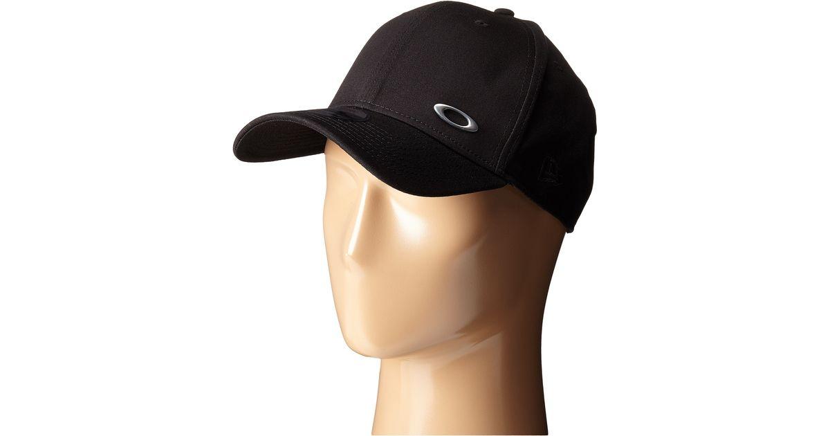 Lyst - Oakley Tinfoil Cap in Black for Men 62ff8aa8334a
