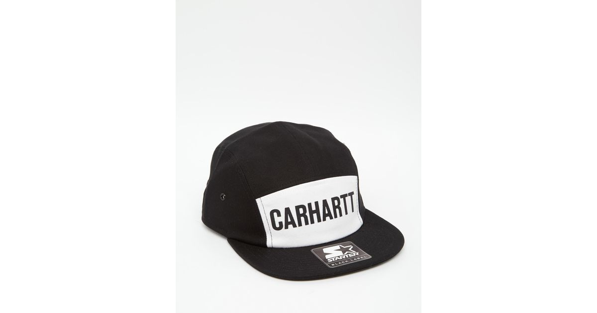 3f525b85dc90c Carhartt WIP Shore Starter 5 Panel Cap in Black for Men - Lyst