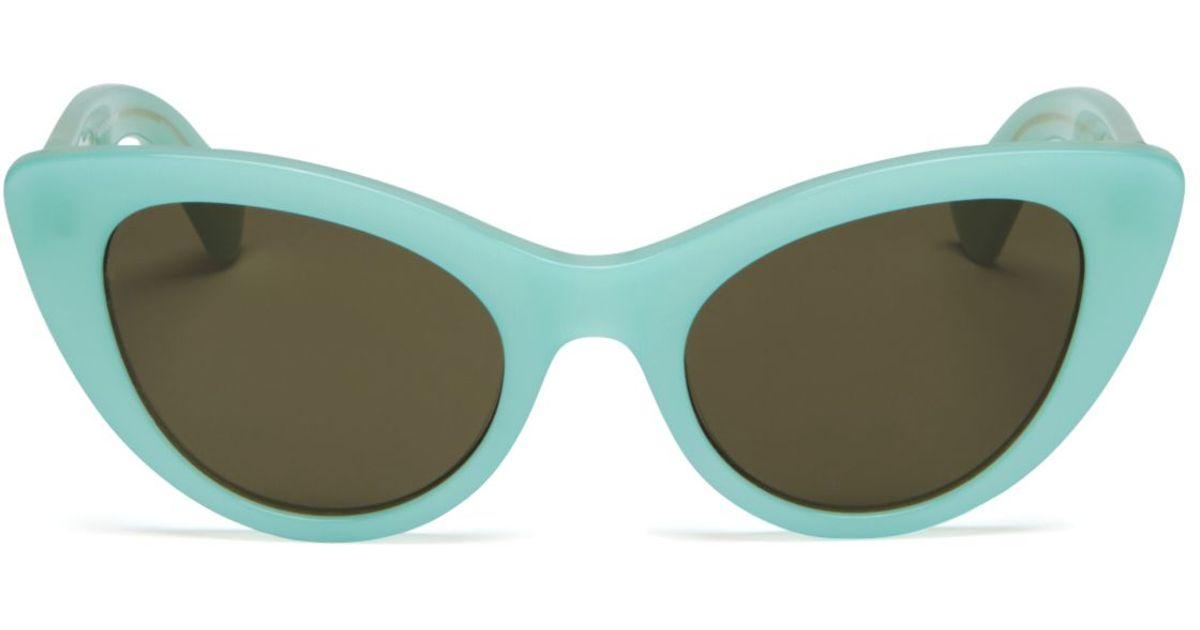309d6742377 Lyst - Kate Spade Deandra Cat Eye Sunglasses