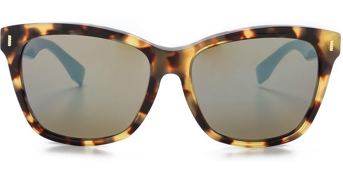 Image result for images of fendi havana chrome sunglasses
