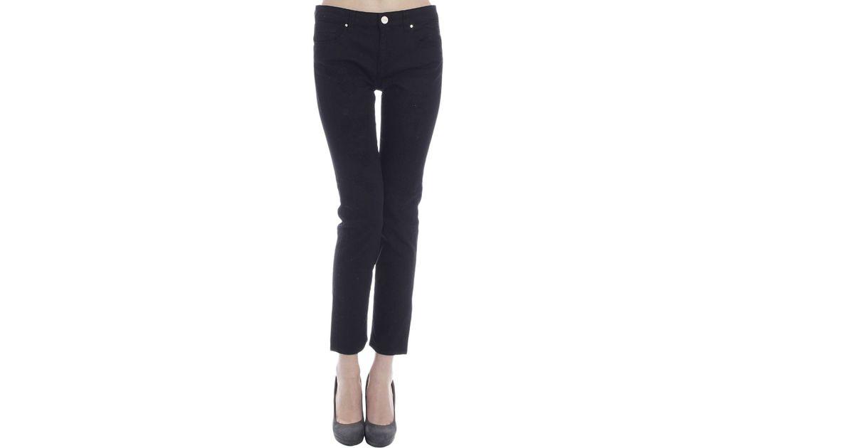 los angeles 4aafd 30561 Pinko - Black Women's Jeans - Lyst