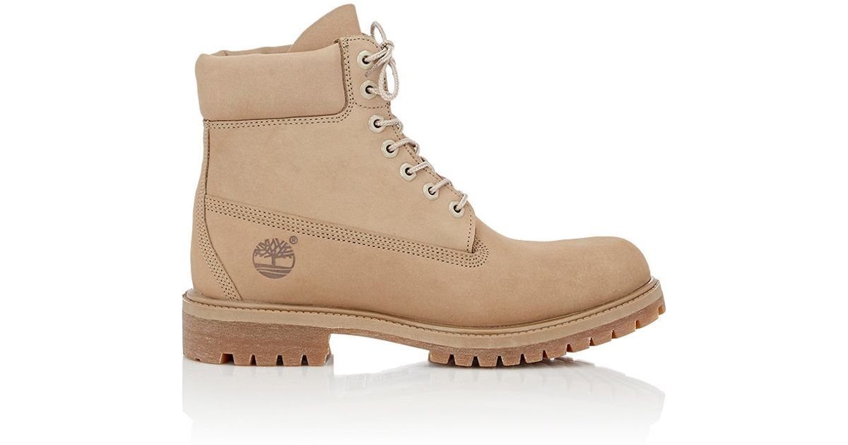 33f020589d74 Timberland Men s Monochrome 6 Boots in Natural - Lyst