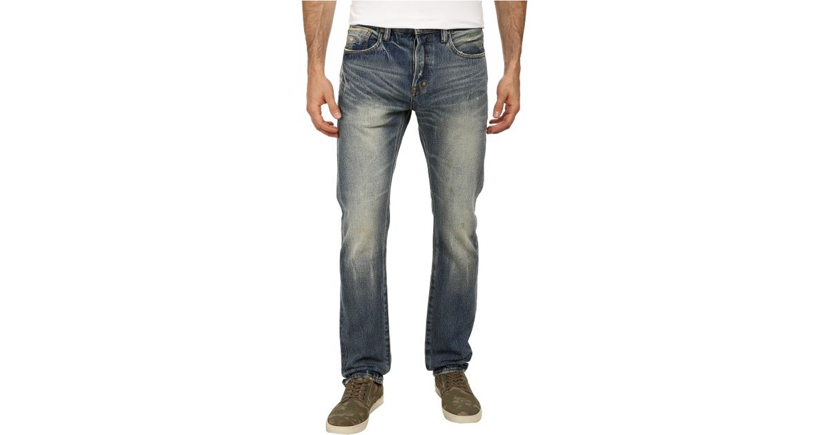 d0c32491 Lyst - PRPS Demon Slim Fit In 5 Year in Blue for Men