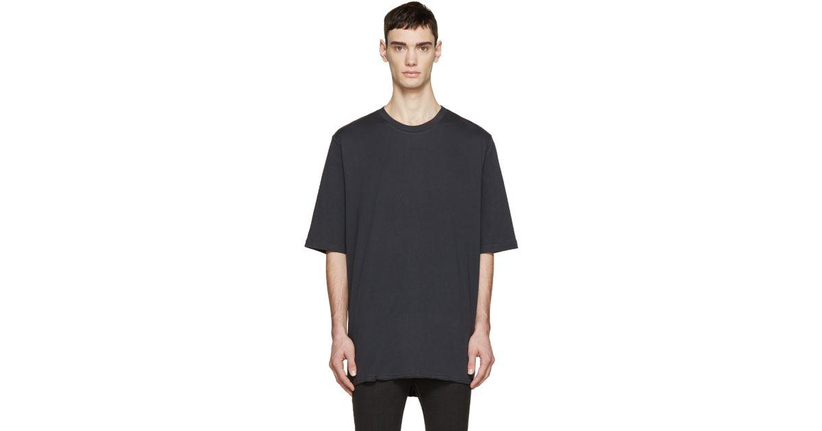 3 1 Phillip Lim Black Extra Long T Shirt In Black For Men