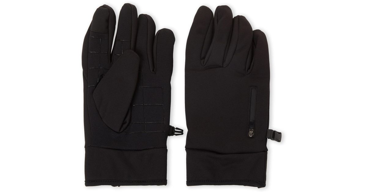 2eebae368 Kenneth Cole Reaction - Black Tech Touch Screen Gloves for Men - Lyst