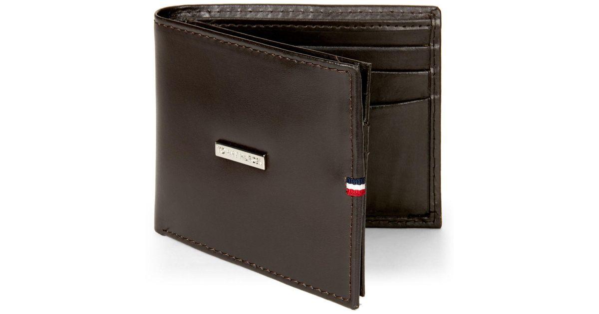 d7c9c2b3 Tommy Hilfiger Barrington Multi-Card Wallet in Brown for Men - Lyst