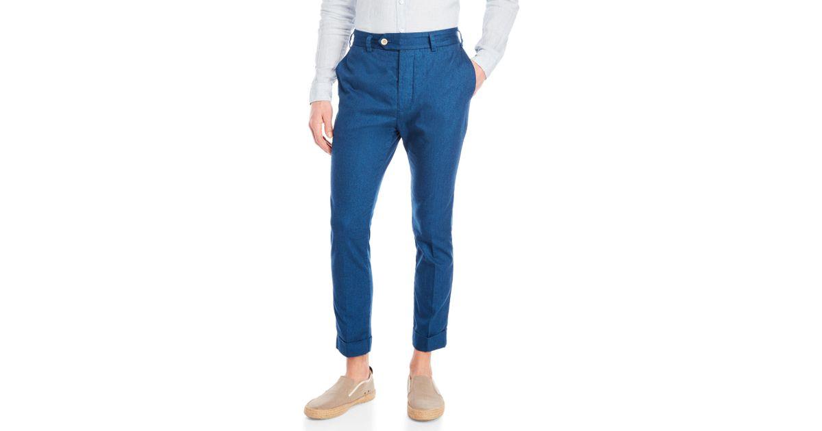 Coton Mens Pantalon Droit Max'n Chester itx6p