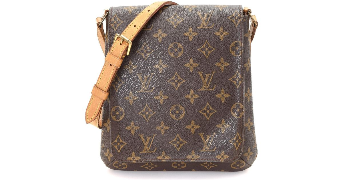 Lyst Louis Vuitton Musette Salsa Long Strap Crossbody Vintage In Brown