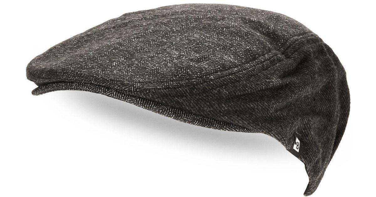 Lyst - Block Headwear Ivy Cap in Black for Men eed1de4846c