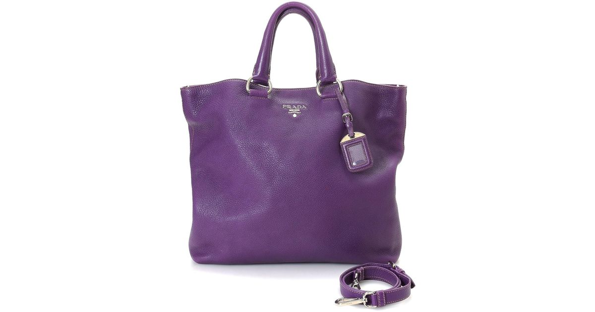 83a0db175adb3c ... coupon code for lyst prada tote bag vintage in purple eb5b4 607e0