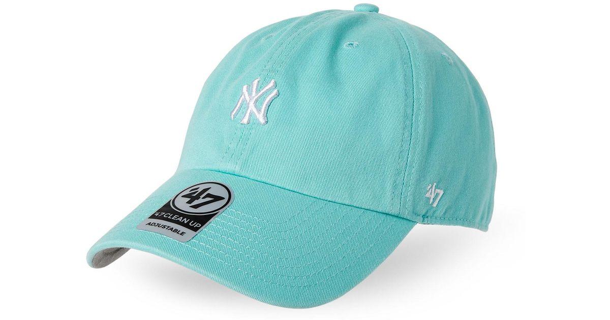 Lyst - 47 Brand New York Yankees Mini Logo Baseball Cap in Blue for Men 2376c31cd87