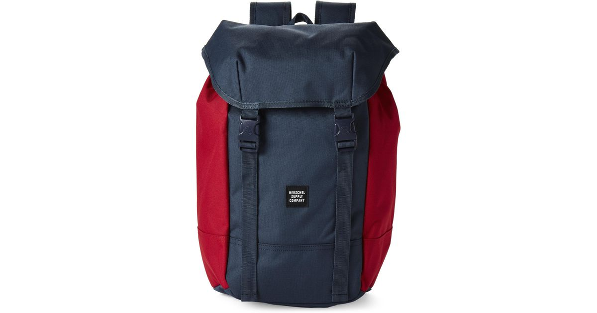 0a9274a4007 Lyst - Herschel Supply Co. Red   Navy Iona Laptop Backpack in Blue for Men