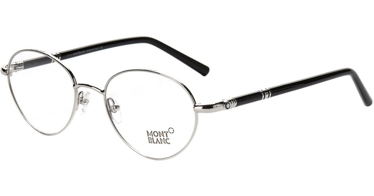 Lyst - Montblanc Mb 527 Round Optical Frames