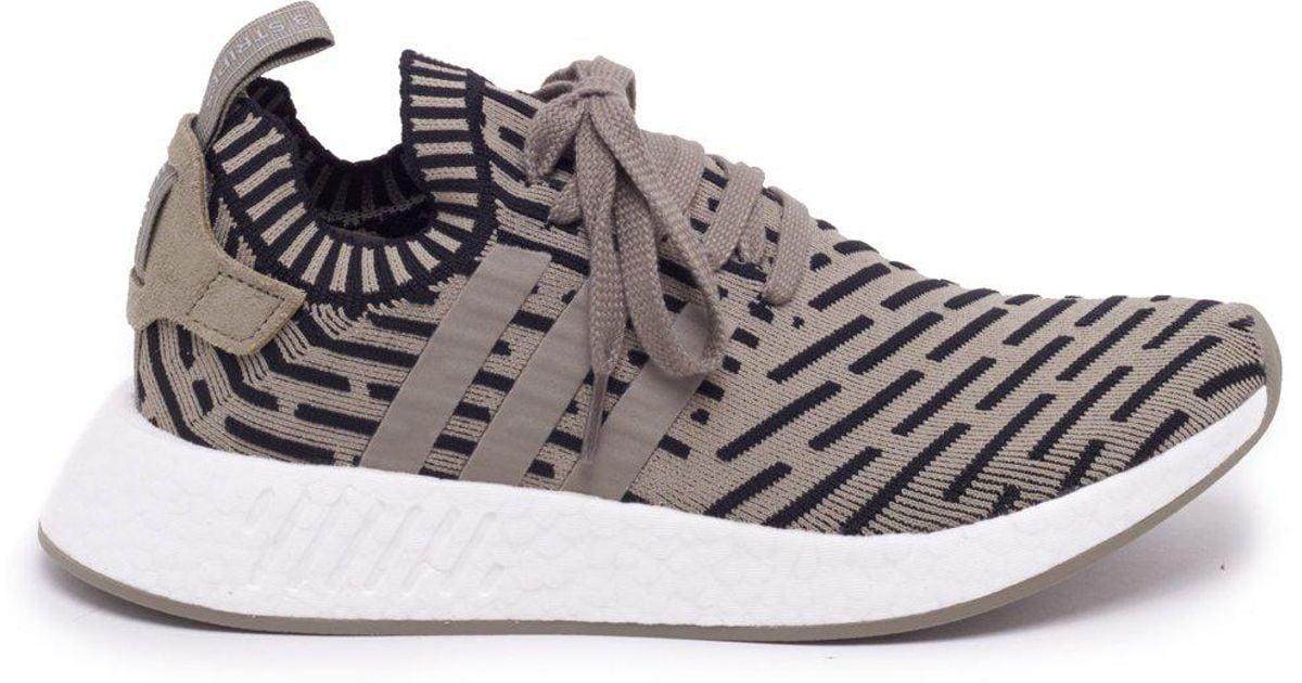 6a5ae9508429a adidas Originals Nmd r2 Primeknit Sneakers - Lyst