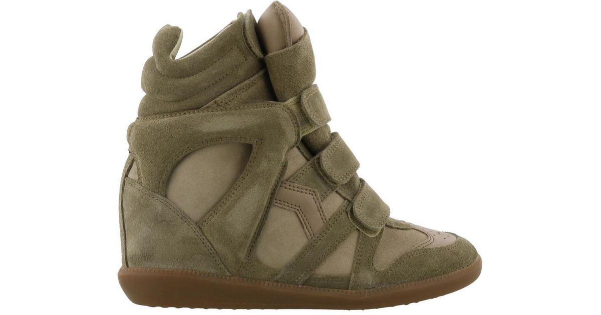 40c3aba96e Lyst - Isabel Marant Beckett Sneakers in Green