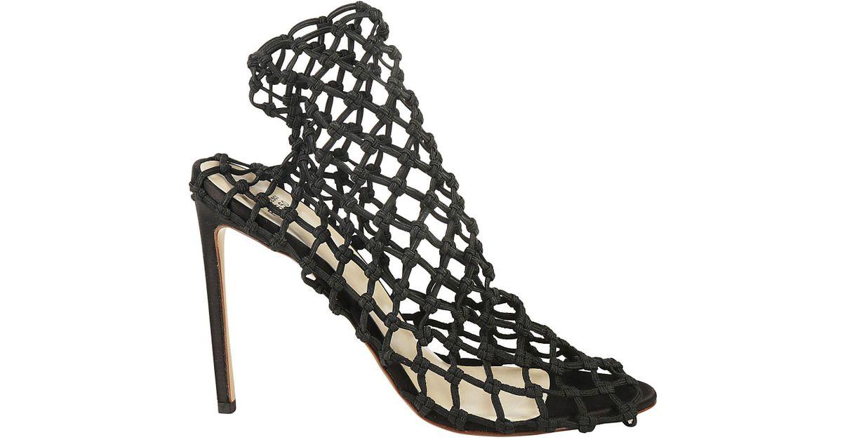 Francesco Russo Net sandals BfKjmc7p6w
