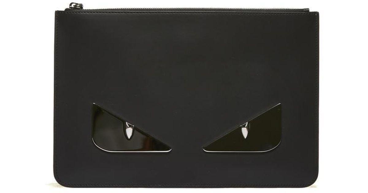 Fendi Bag Bugs Clutch Bags in Black for Men - Lyst 2c901502d2c45
