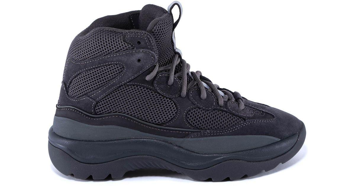 41c8a398e2813 Lyst - Yeezy Season 6 Desert Rat Boots in Gray for Men