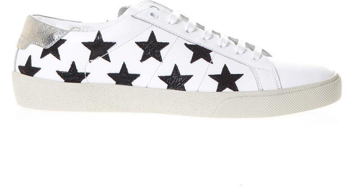 09e3a17b423 Saint Laurent Sl/06 California Star Sneakers for Men - Lyst