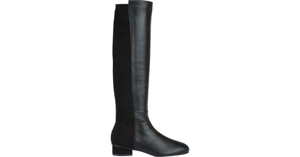 418d62c8a Lyst - Stuart Weitzman Eloise Boots in Black