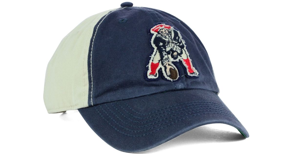 7f4d65de30e5a ... new zealand lyst 47 brand new england patriots nfl derby clean up cap  in natural for