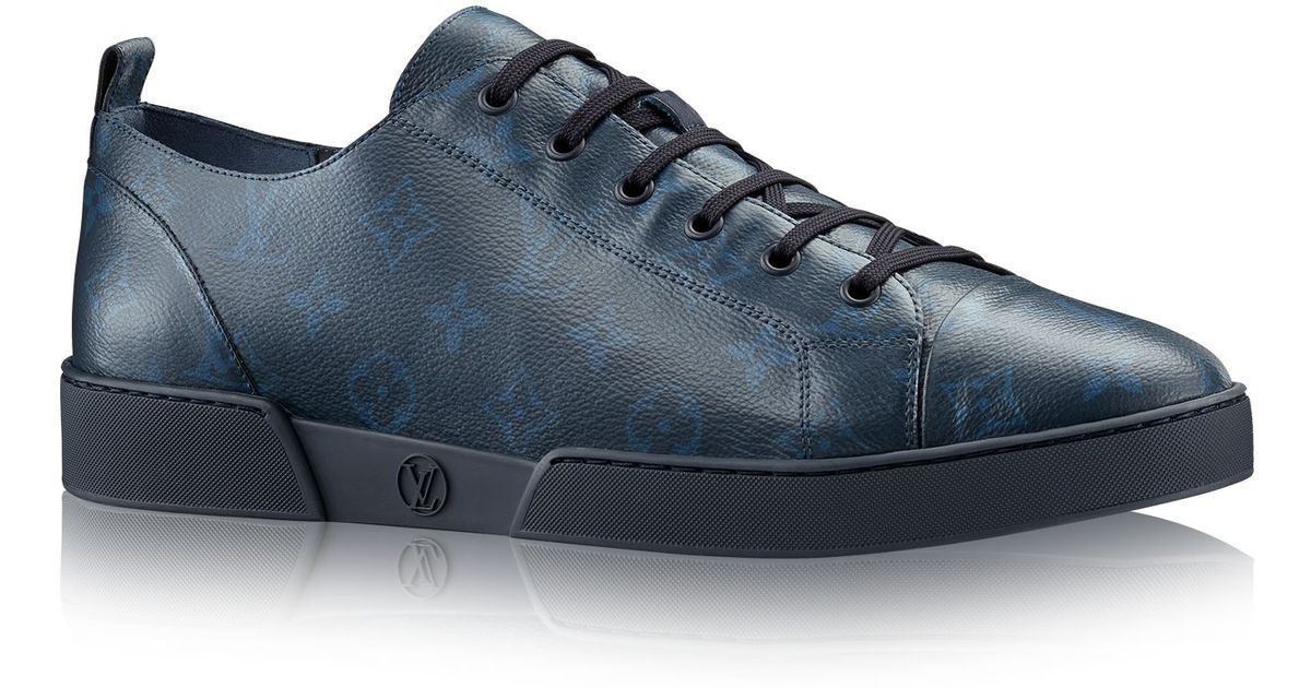 Louis Vuitton Match Up Sneaker In Blue For Men Lyst
