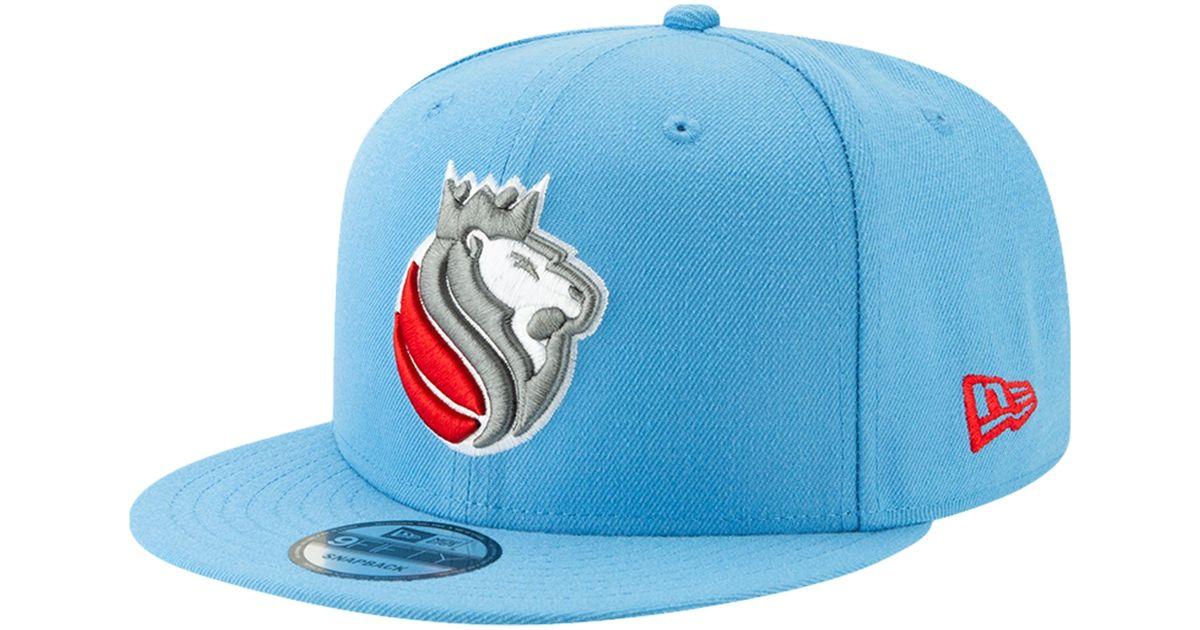 540ec12486e8ff KTZ Sacramento Kings Nba 9fifty City Edition Snapback in Blue for Men - Lyst
