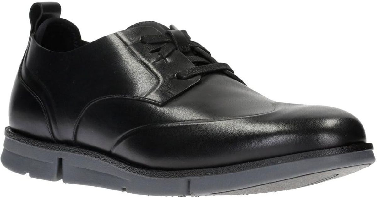 For Shoes Casual Wing Men Trigen Black Mens Clarks Lyst In xPqH788X