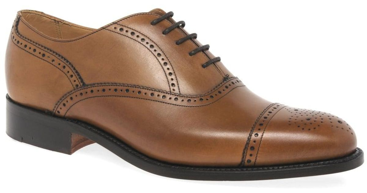 30abb3bf Barker - Brown Newcastle Mens Formal Lace Up Shoes for Men - Lyst