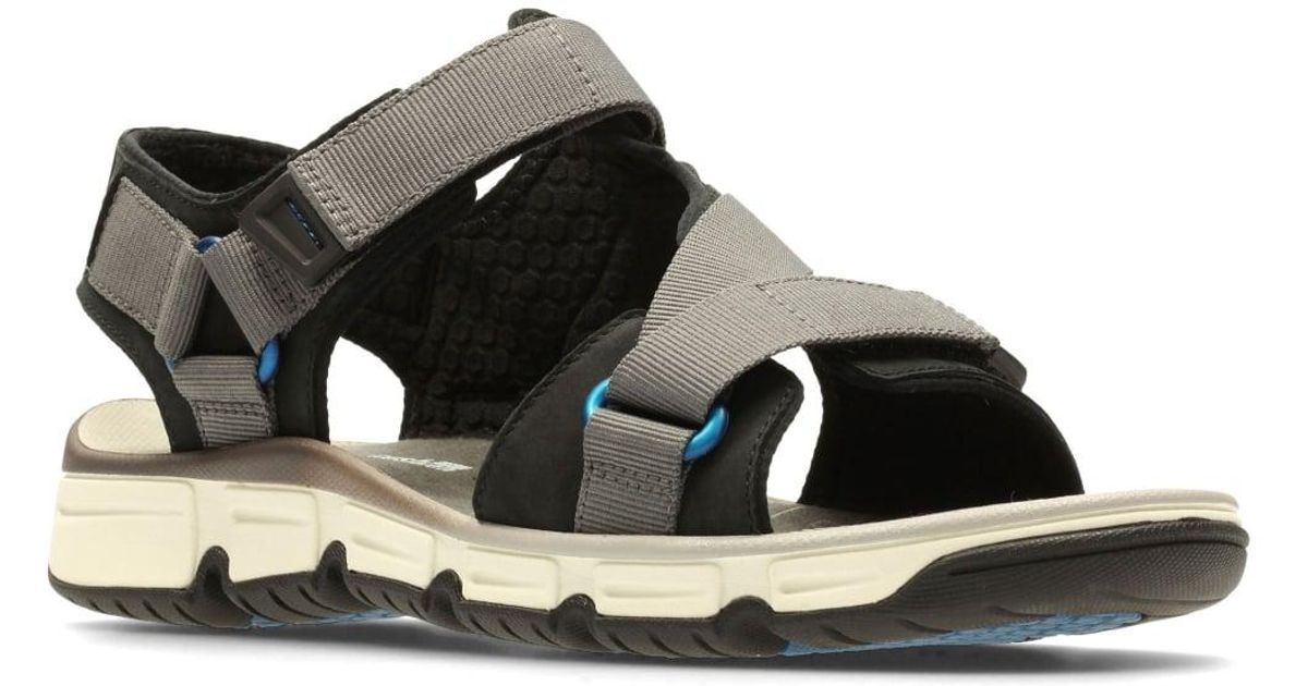 91f1afd1658a Lyst - Clarks Explore Active Mens Casual Sandals in Black for Men