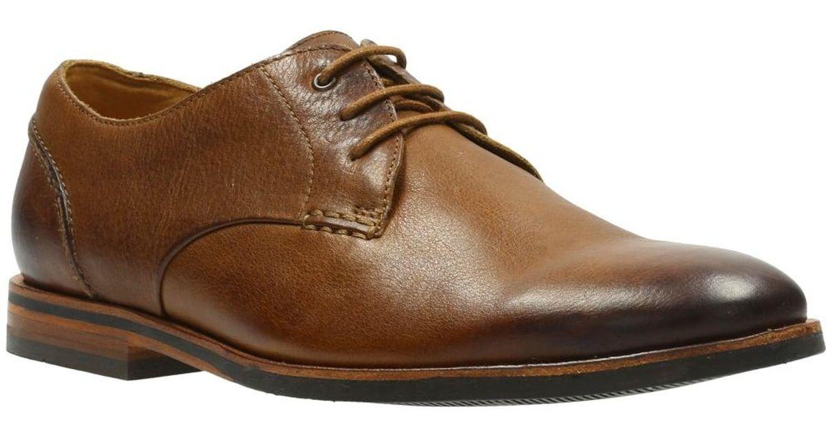 Mens Clarks Formal Lace Up Shoes /'Vennor Walk/'