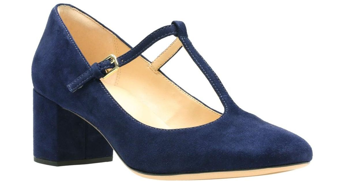 Clarks Womens Shoes T Bar