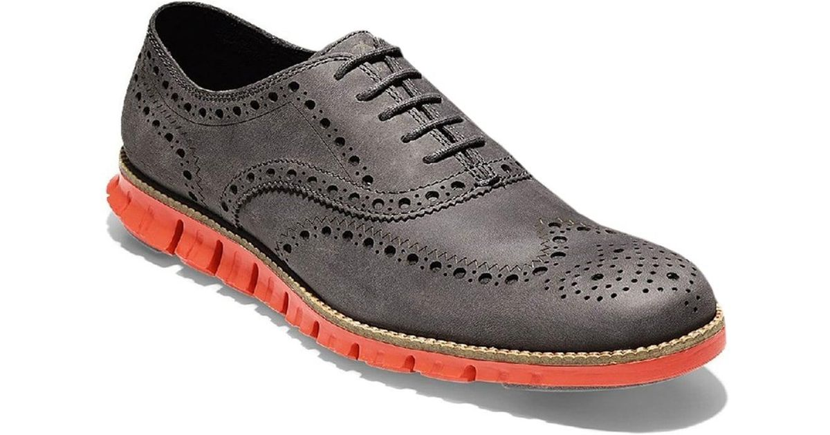 7e5850cbdb0a51 Lyst - Cole Haan Zerogrand Wingtip Oxford Mens Shoes for Men