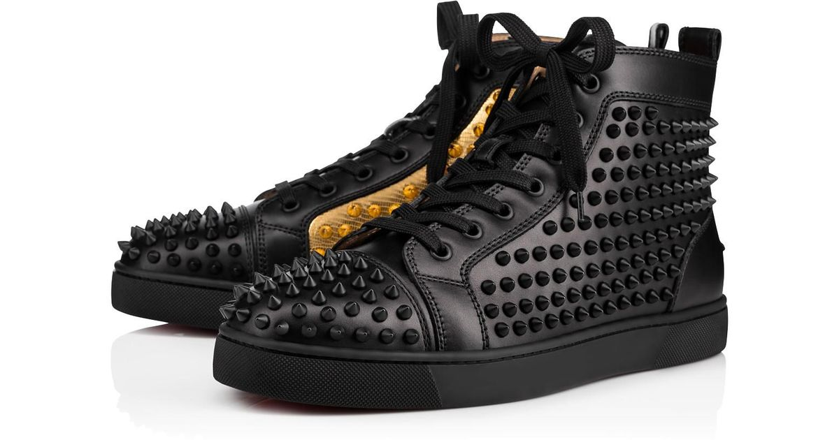 f7c747a142db Lyst - Christian Louboutin Yang Louis Flat in Black for Men
