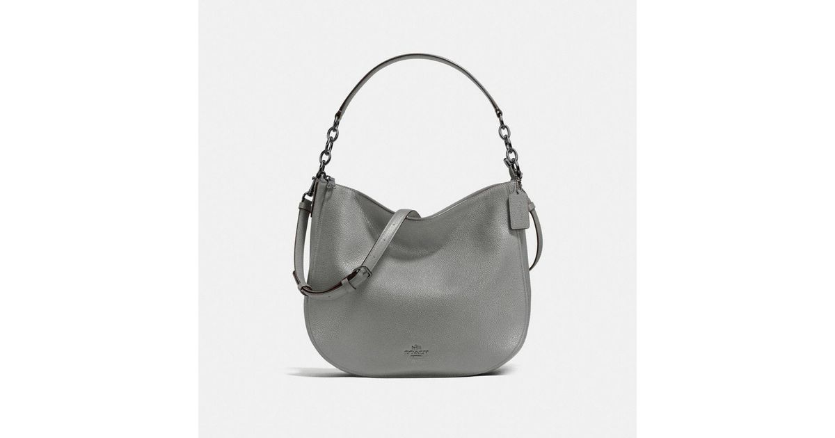 47348f54b COACH Chelsea Hobo 32 in Gray - Lyst