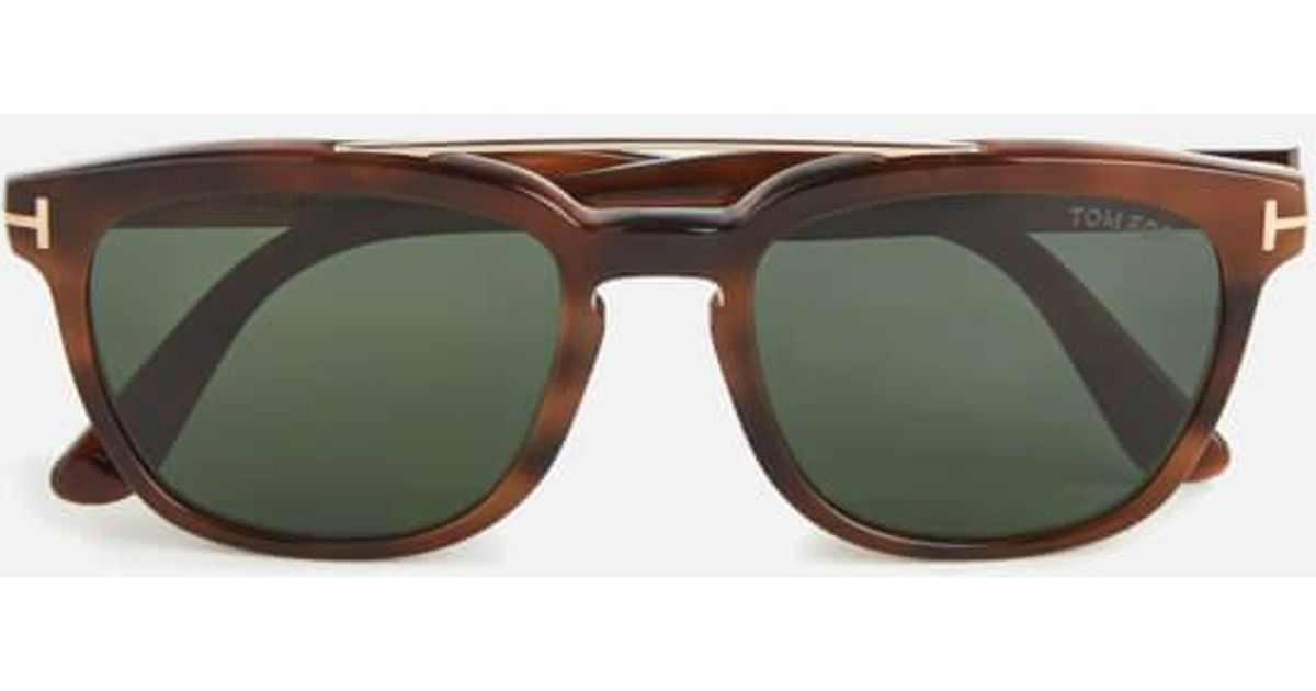 fab9a93e9f Lyst - Tom Ford Men s Holt Sunglasses in Brown for Men