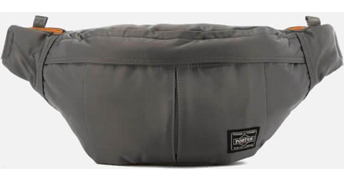Porter Porteryoshida   Co. Men s Tanker Waist Bag in Gray for Men - Lyst bb74362108cce