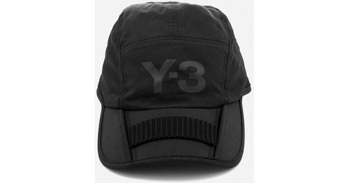 c98b27612 Lyst - Y-3 Y3 Foldable Cap in Black for Men