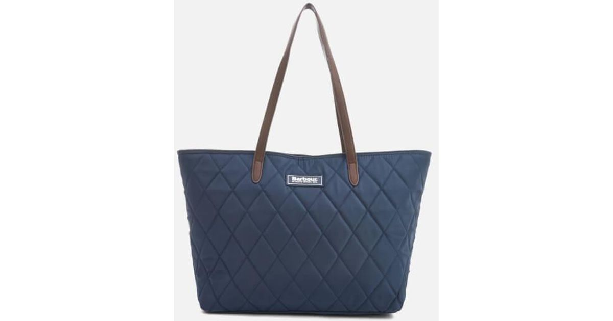 0fd51bb18b0a Barbour Witford Small Tote Bag in Blue - Lyst