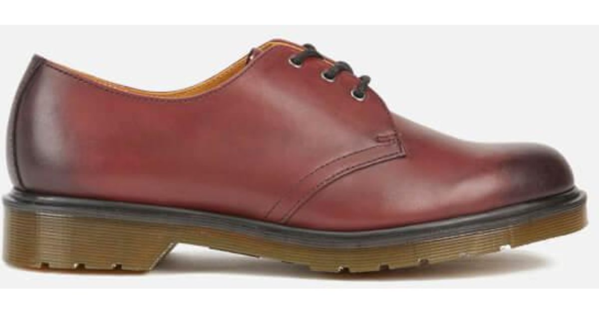 c8bba91c1df Lyst - Dr. Martens Men s Core 1461 Antique Temperley Leather 3eye Derby  Shoes for Men