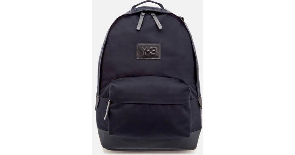 Y-3 Y3 Tech Lite Backpack in Blue - Lyst c3fbe76529d69