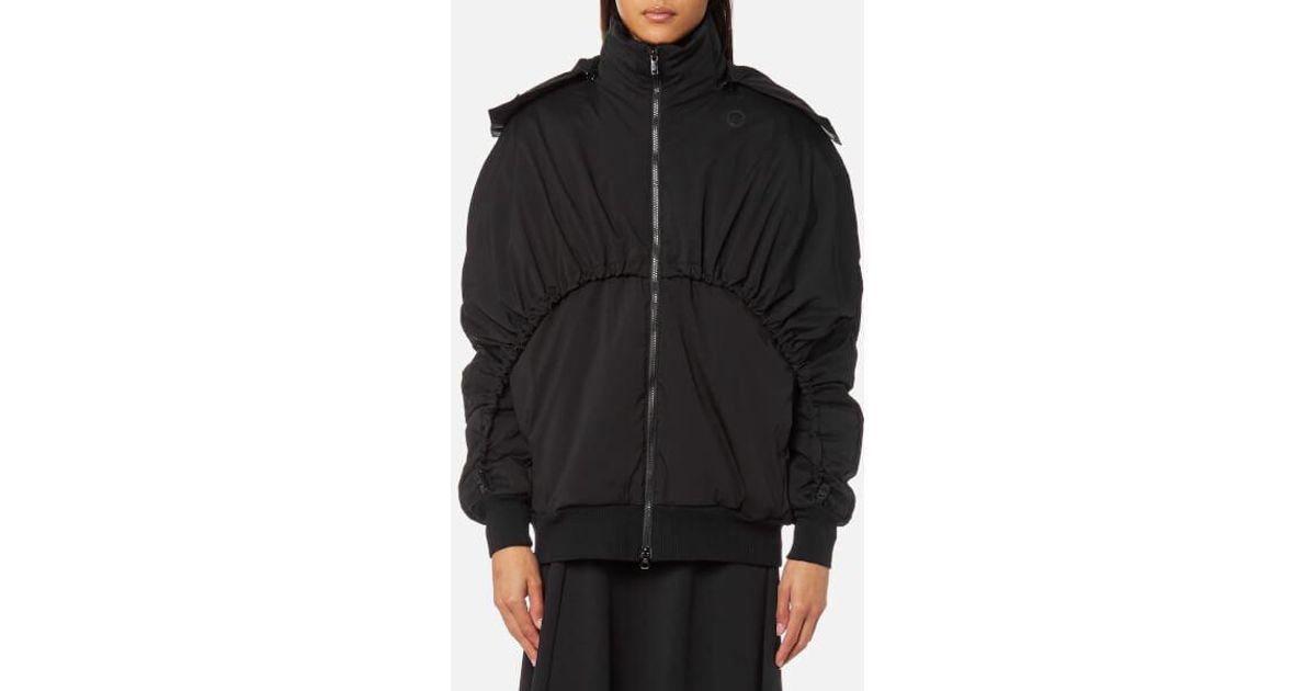 Lyst - Y-3 Y3 Women s Matte Down Jacket in Black 01479a7f48c4d